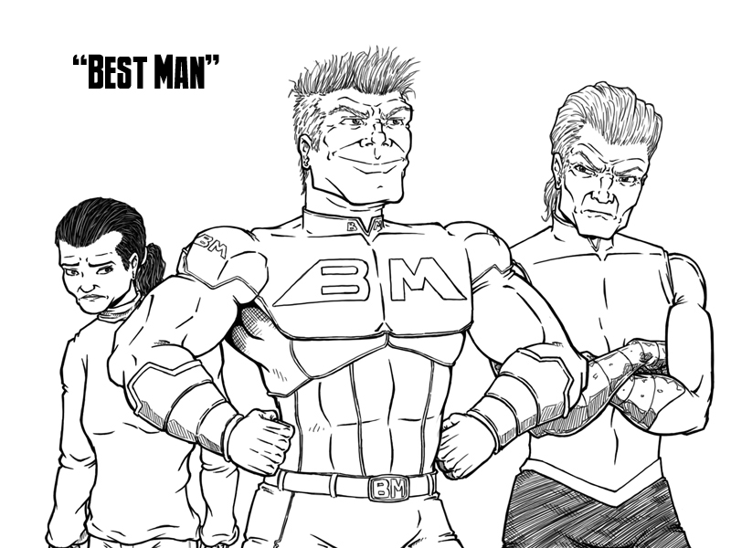 Best Man – Cover