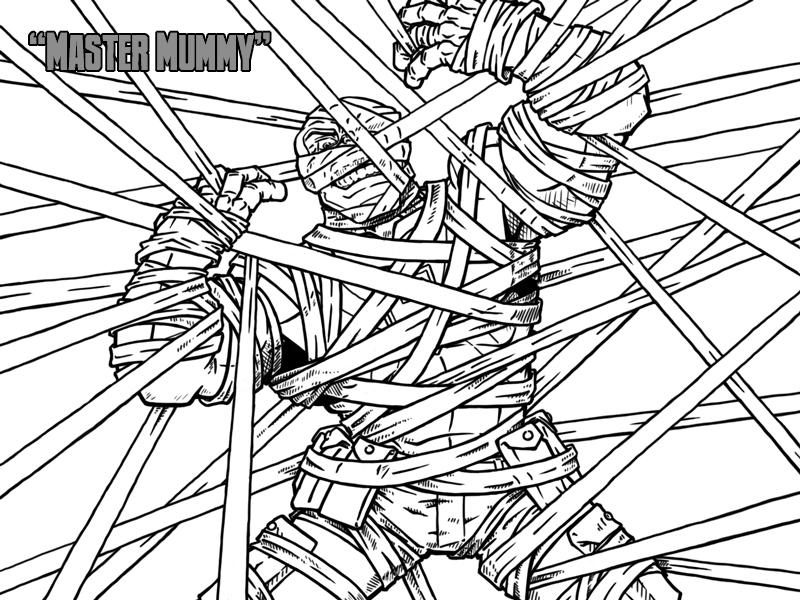 Master Mummy – Cover
