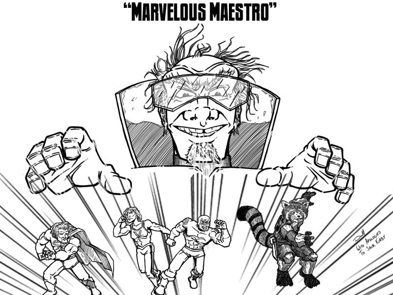 Marvelous Maestro – Cover