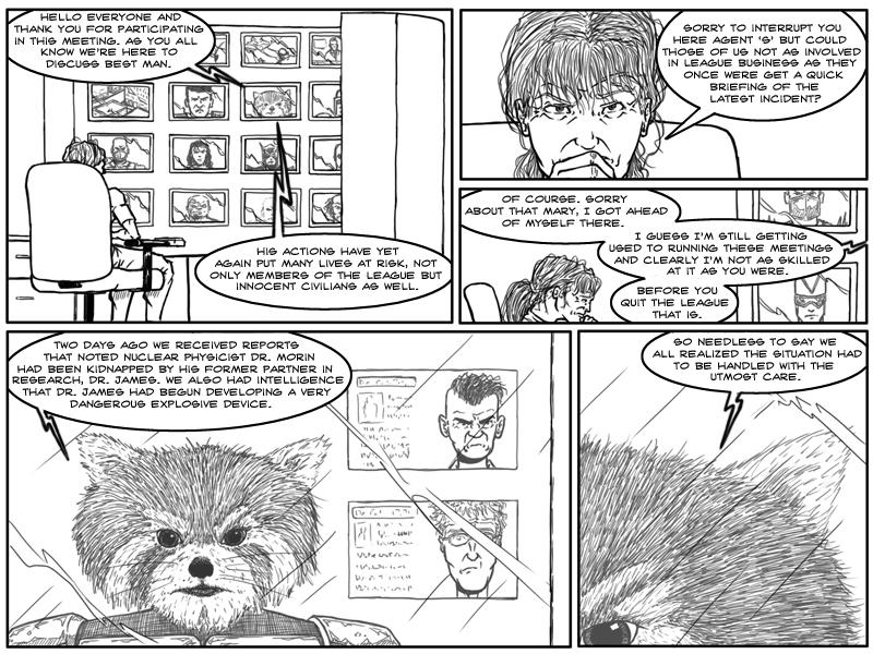 Best Man – Page 1